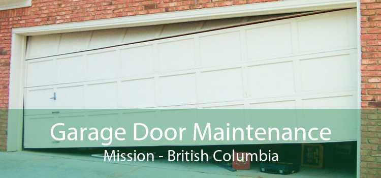Garage Door Maintenance Mission - British Columbia