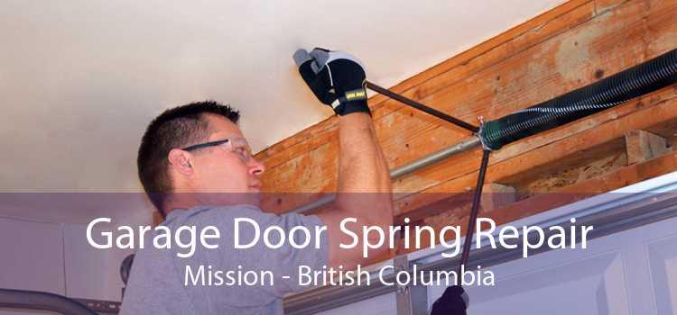 Garage Door Spring Repair Mission - British Columbia
