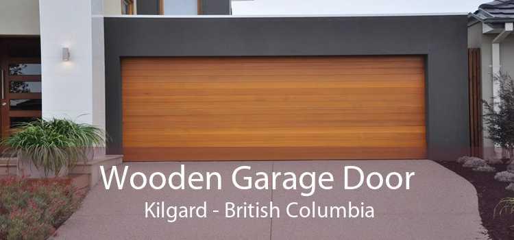Wooden Garage Door  Kilgard - British Columbia
